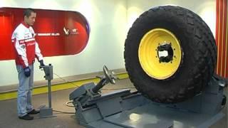Шиномонтажный станок BRIGHT от компании АвтоСпец - видео