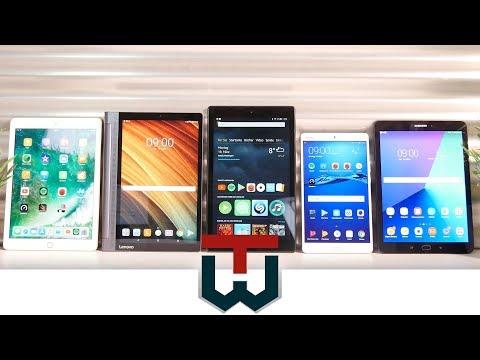Die besten 5 Tablets im TechWatch Vergleich