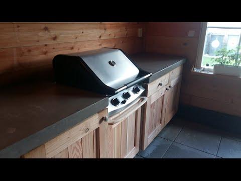 Ik bouw mijn buitenkeuken zelf - DIY outdoor kitchen - garten kochstelle - Betonnen aanrechtblad