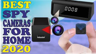 ✅ Top 5: Best Spy Camera 2020 | Monitor Your Home When You Are Away