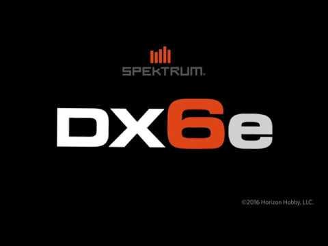 Spektrum DX6e 6 Kanal DSMX Fernsteuerung & Empfänger, Funkanlage