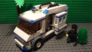 LEGO САМОДЕЛКА #21 | Автомобиль для перевозки заключенных / Prisoner Transporter