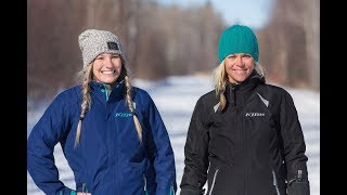 Wild and Free - Jessi Combs and Cynthia Gauthier Snowmobile in Northeastern Ontario | Kholo.pk