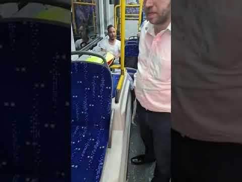 נהג אוטובוס הותקף קשות במודיעין עילית • צפו
