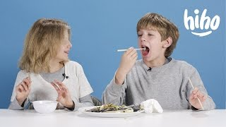 Dinners | American Kids Try Food From Around the World - Ep 3 | Kids Try | Cut - dooclip.me