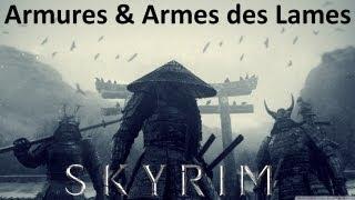 Skyrim Mod [FR] :Armures & Armes uniques des Lames - Katana, Kimono, Armure Samourai