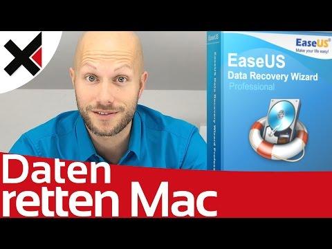 Gelöschte Dateien wiederherstellen Mac mit EaseUS Tutorial Deutsch