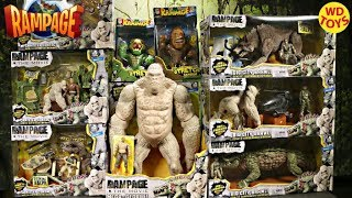 New 10 Rampage The Movie Toys Compare to King Kong Skull Island Unboxing تحميل MP3