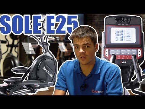 Эллиптический тренажер Sole E25