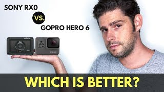 GOPRO HERO 6 vs. SONY RX0 - Is this the best vlogging camera?