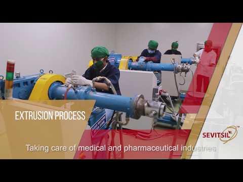 Platinum Cured Silicone Tube for Pharmaceuticals