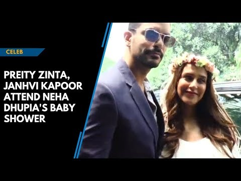 B-town attends Neha Dhupia and Angad Bedi's baby shower