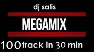 DJ SALIS - MEGA MIX - 100 TRAKÓW W 30 MINUT -  ELECTRO & FIDGET & BASS HOUSE