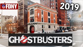 Ghostbusters Firehouse Newly Restored 2019! FDNY Ladder 8 & My Emotional Visit To The 9/11 Memorial