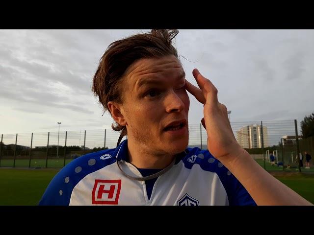 Viktor Örn: Ánægður með að ná 90 mínútum - Alltaf von