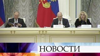 В.Путин провел совещание по подготовке празднования юбилея Победы в Великой Отечественной войне.