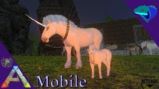 ark survival evolved mobile taming unicorn - TH-Clip