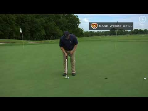 Putting Technique Drills: Sand Wedge Putting Practice