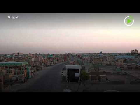 العرب اليوم - شاهد: طائرة درون تصور أكبر مقبرة في العالم في العراق