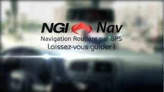 preview picture of video 'NGI NAV : La Navigation Routière par GPS pour Android'