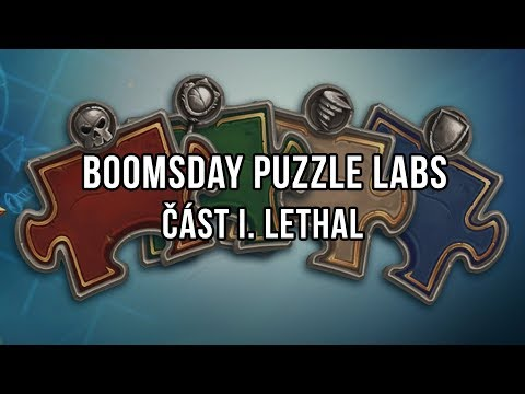 Boomsday Puzzle Labs - Část I. Lethal