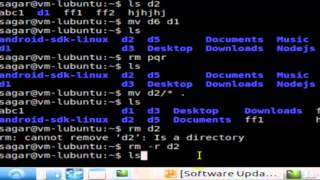 How to delete a directory in Linux