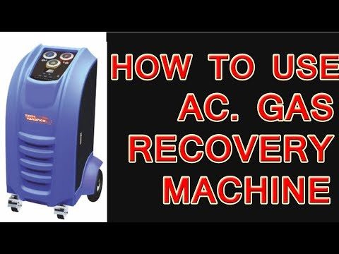 Fully Automatic A.C. Recovery Machine