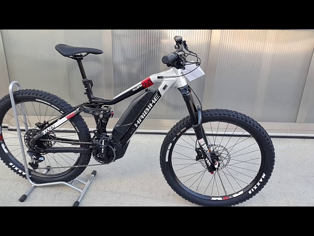 Видео Электровелосипед Haibike XDURO AllMtn 2.0 500Wh черно-серебристо-красный