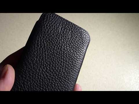 Sena UltraSlim Leather Sleeve Case For iPhone X (10) Review