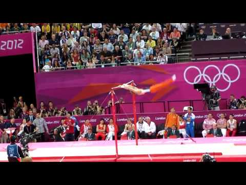 Best Horizontal Bar Performance of the Olympics!
