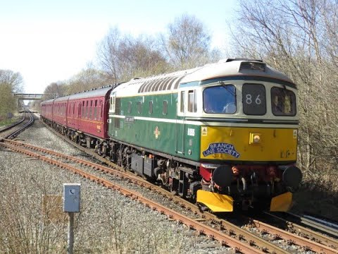 "Download 33012 TNT 33029 On The 1Z86 1Z87 Ruby Vampire Second Bite ""Branch Line Society Railtour"" 24/03/2019 HD Mp4 3GP Video and MP3"