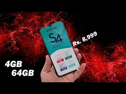Infinix S4 4GB + 64GB new variant for Rs. 8,999