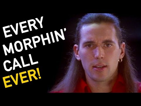 EVERY MORPHIN' CALL EVER! | Power Rangers