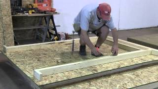 How To Build A Shed - Part 2 The Walls