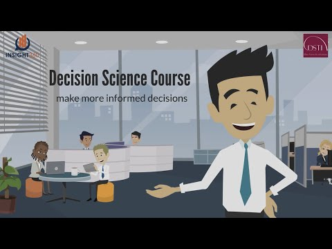 Decision Science Course - YouTube