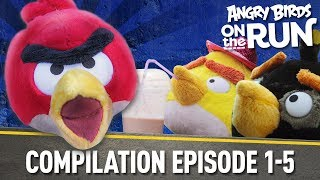 Angry Birds On The Run | Compilation Part One   Ep1 5