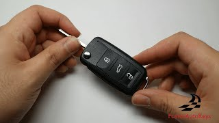 [HOW TO] 2010+ VW Complete Volkswagen Key Fob Shell Replacement Tutorial