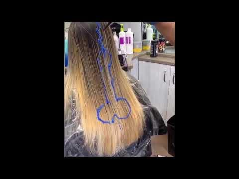 Gorgeous blue hair dye!