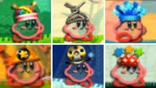 Kirby's Extra Epic Yarn - All Power-Ups