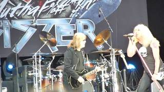 Twisted Sister - Hellfest 2010 - Dio hommage - Long live rock n'roll
