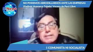 """""""NO PODEMOS ARRODILLARNOS ANTE LAS EMPRESAS EXTRANJERAS"""""""