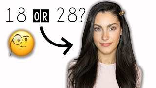 How to Look YOUNGER with Makeup | Alya Amsden