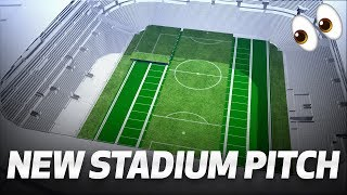 👀 A WORLD FIRST | DIVIDING RETRACTABLE FOOTBALL PITCH FOR TOTTENHAM HOTSPUR