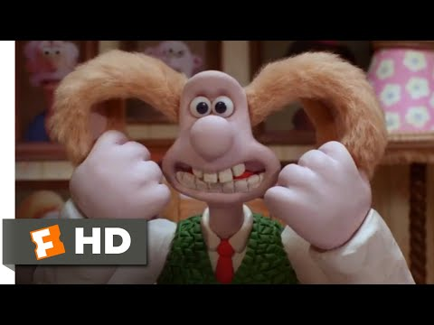 Wallace & Gromit: The Curse of the Were-Rabbit (2005) - Brain Swap Scene (6/10) | Movieclips