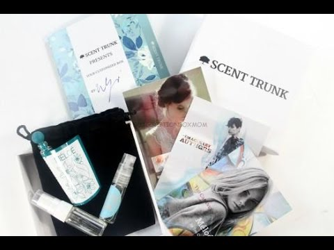Scent Trunk for Women July 2015 Review + Coupon #ScentTrunk