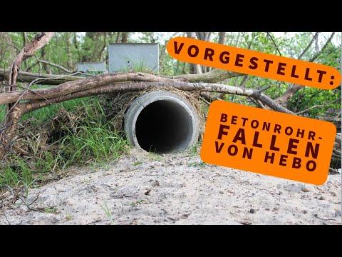 jagd-ausruestung: Für die Fallenjagd: Wir stellen die Betonrohrfallen von HeBo-Jagdeinrichtungen im Video vor