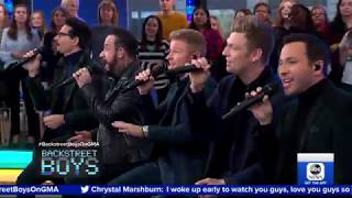 Gambar cover BSB Sing No Place on GMA #BSBDNA