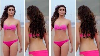 Alia Bhatt Sizzles In Pink Bikini In 'Shaandaar'