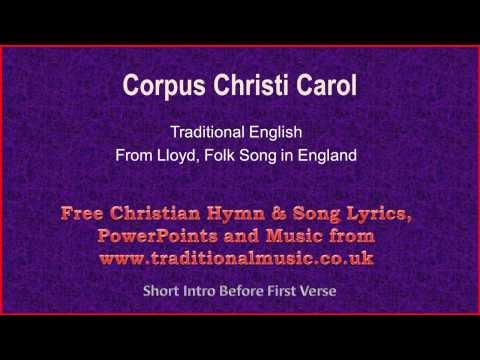 Música Corpus Christi Carol