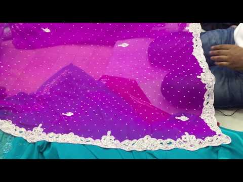 4ecfe0ec7b latest designer stone work saree for wedding and bridal function in  wholesale at cheap price3